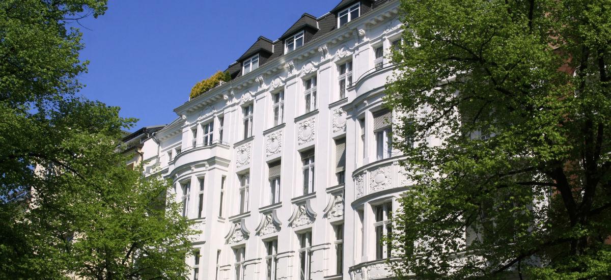 Altbau Fassade Haus Gebaudeversicherung
